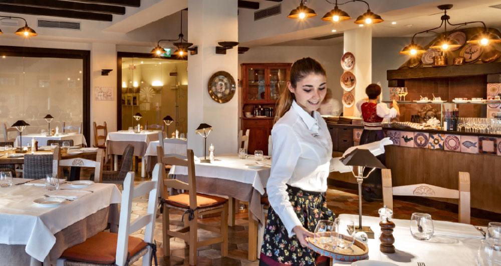 ristorante tipico sardo hotel abi d'oru