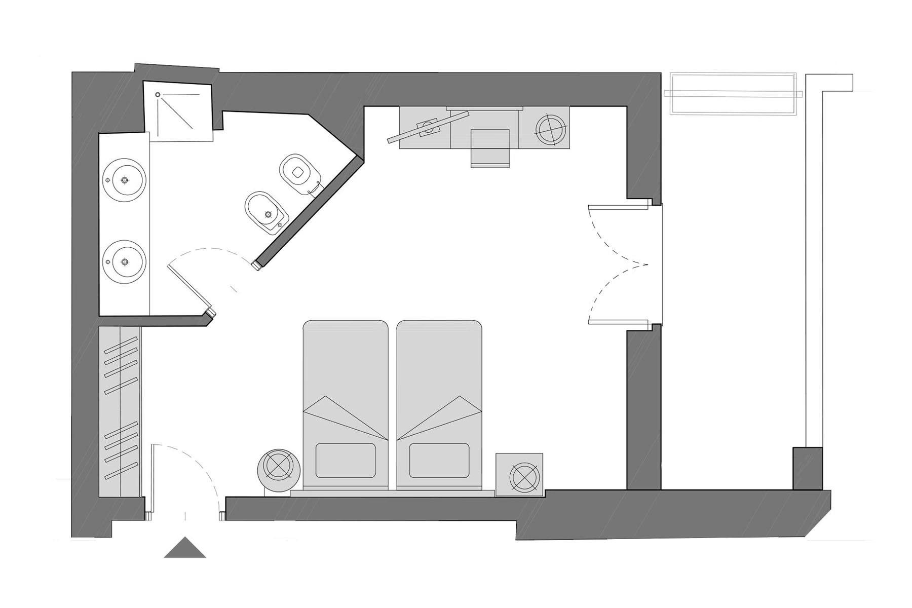planimetria deluxe room